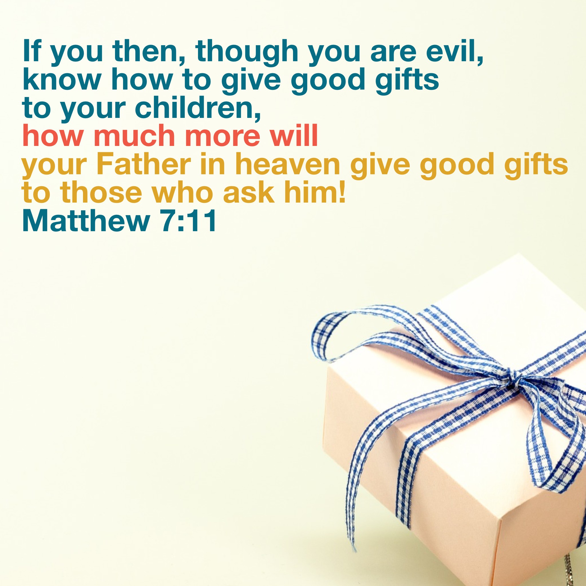 Do you know how to give gifts